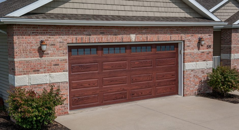 Beautiful CityScape Garage Doors