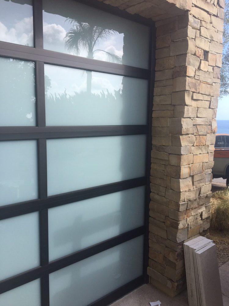 Amarr Glass Door In Laguna Beach Cityscape Garage Doors