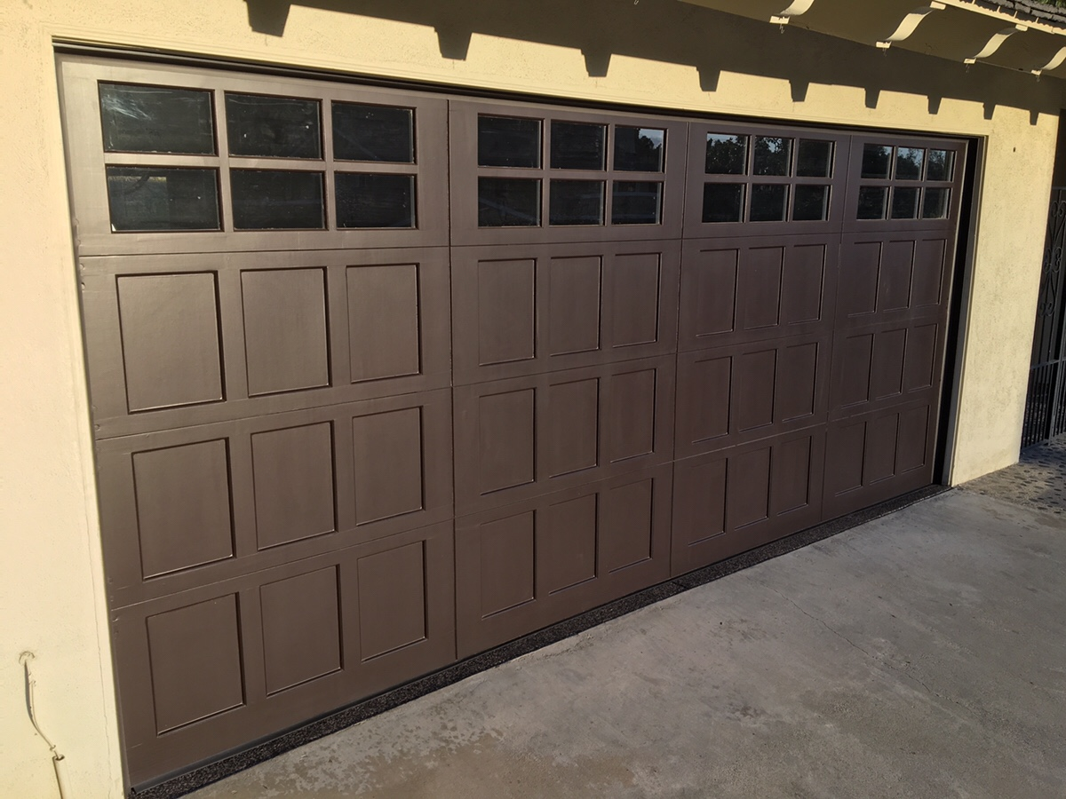 Custom Wood Door Installation CityScape Garage Doors