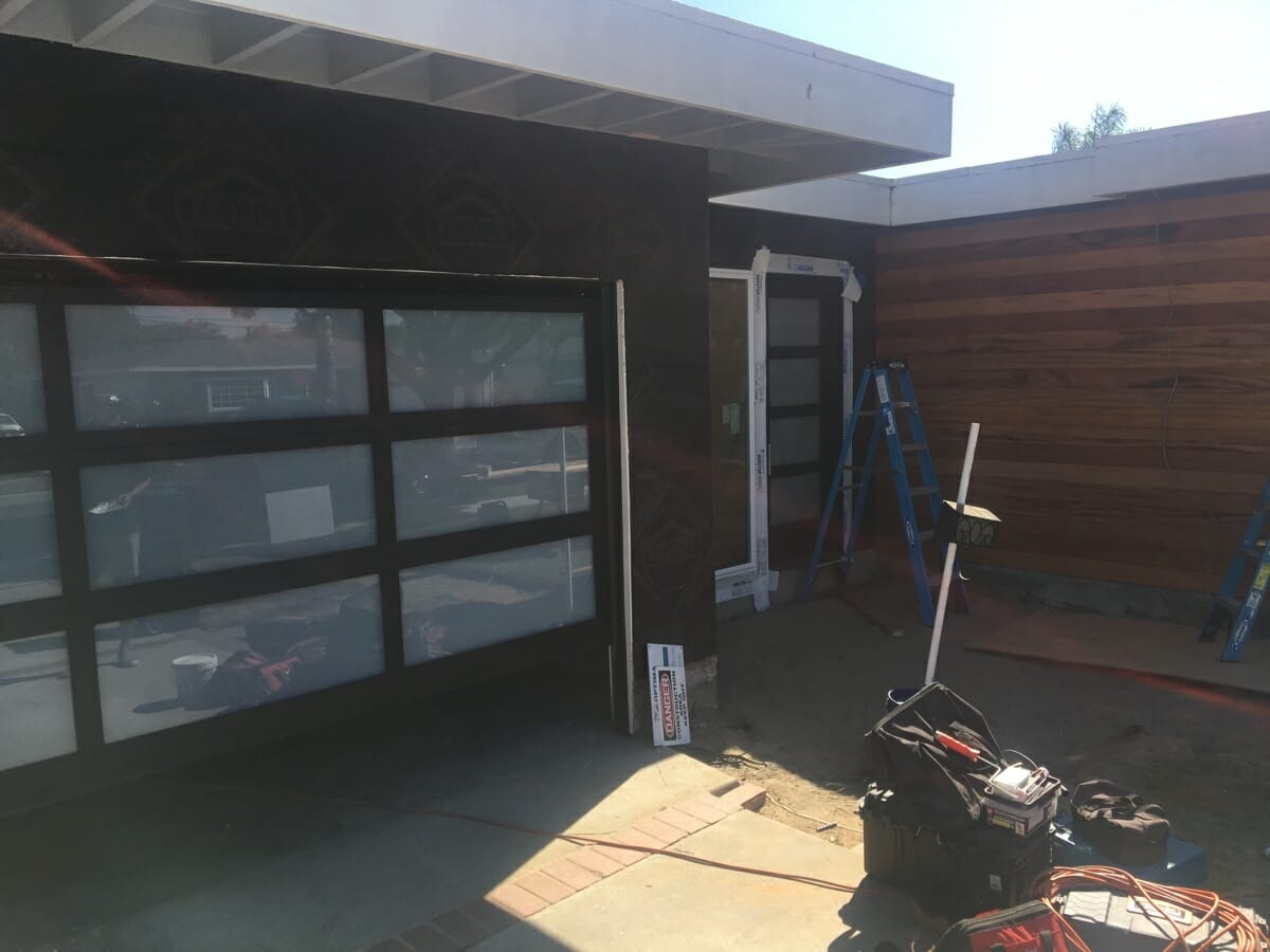 New Glass Door and LiftMaster 8550w Installation In Long Beach