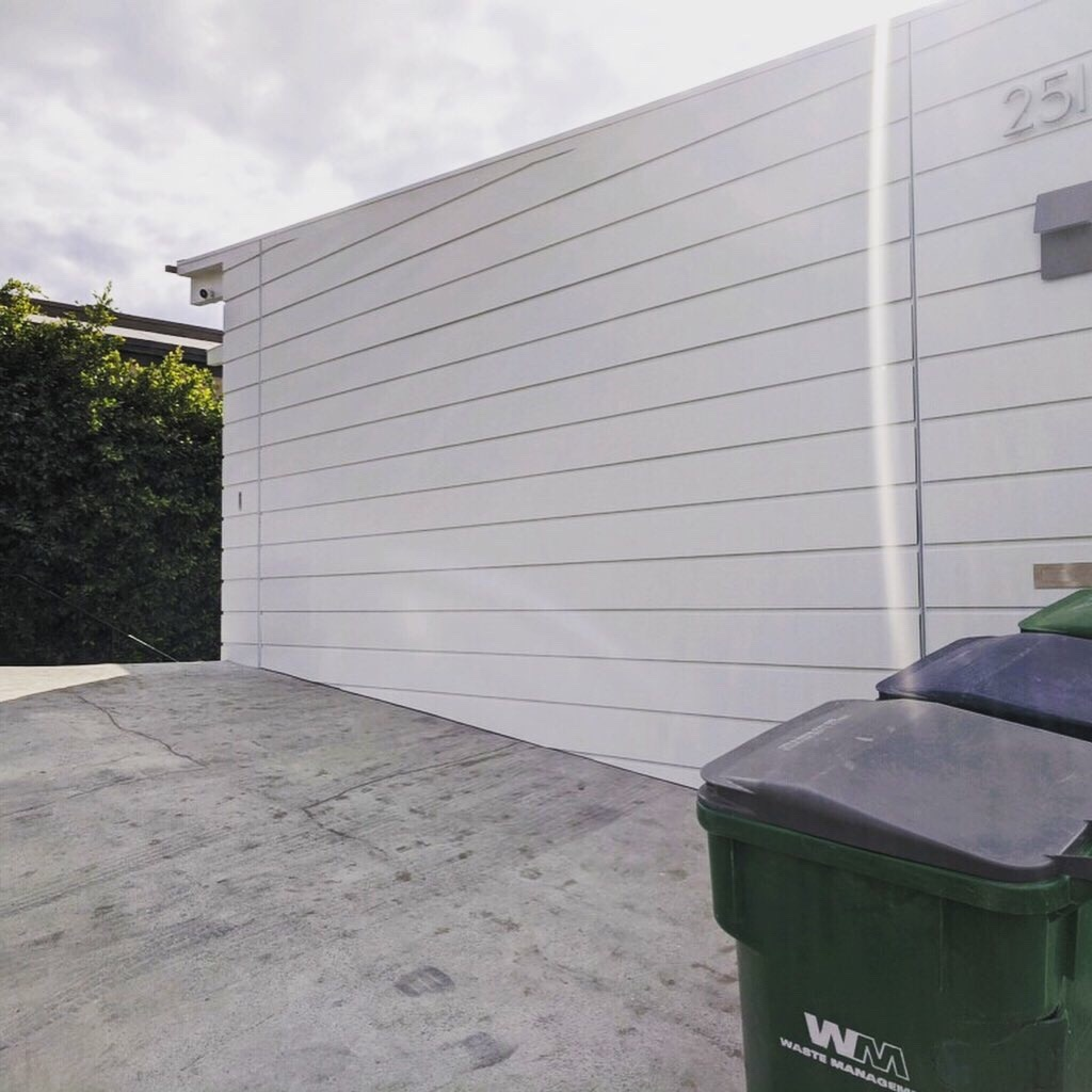 Custom Wood Garage Door Installed In Laguna Beach