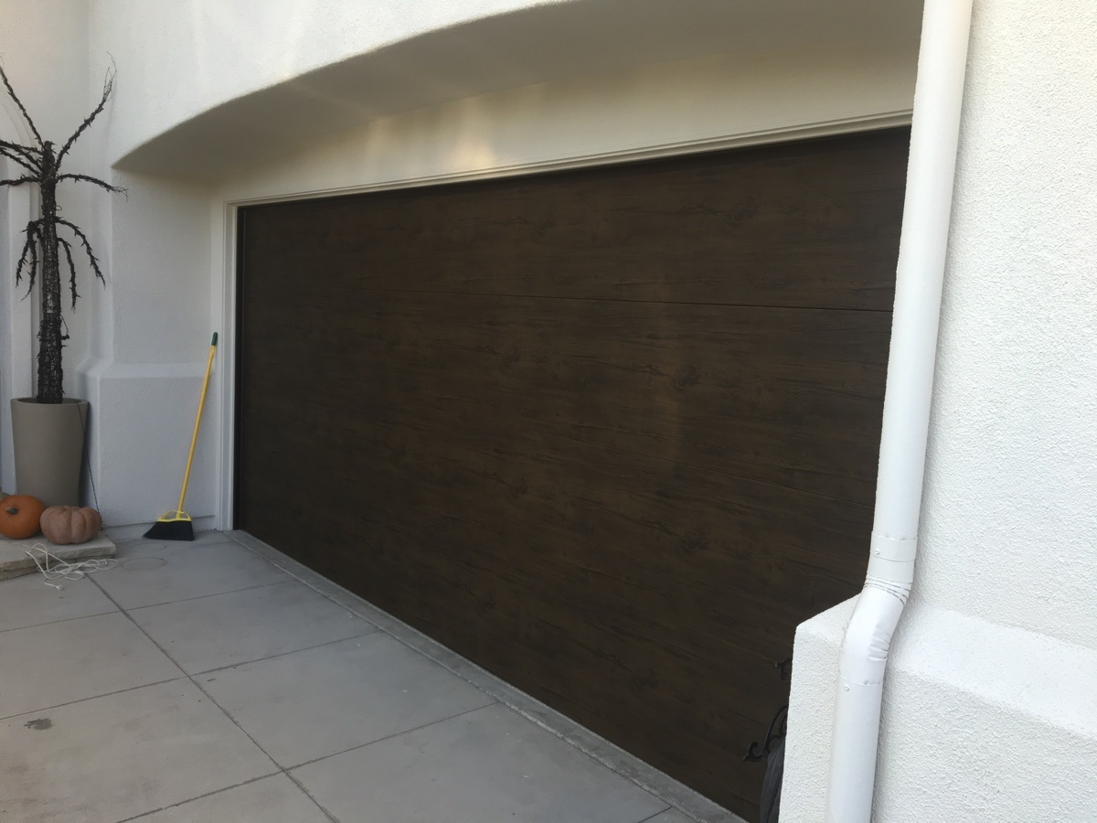New Martin Door Installed In Newport Beach With a Liftmaster Reinstall