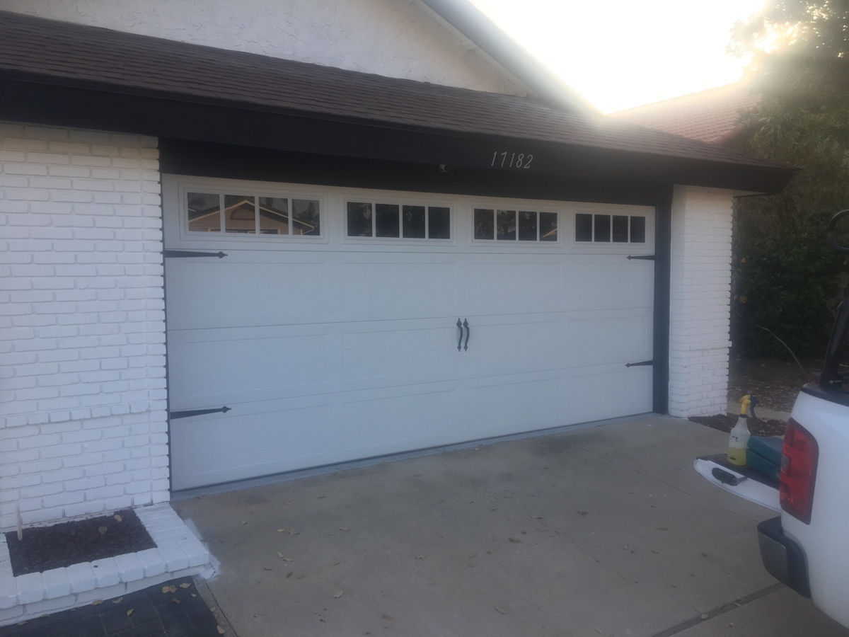 CHI Garage Door Installed In Yorba Linda
